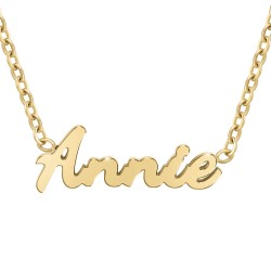 Annie name necklace