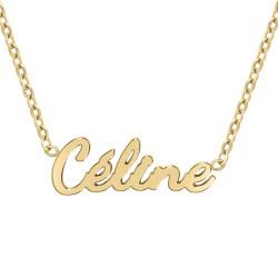 Celine name necklace