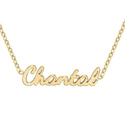 Chantal name necklace