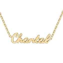 Collier prénom Chantal
