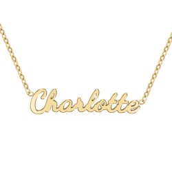 Charlotte name necklace