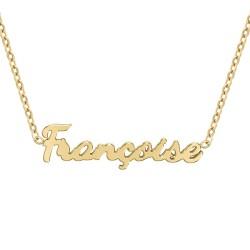 Collier prénom Françoise