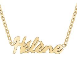 Collier prénom Hélène