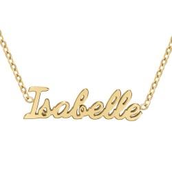 Collier prénom Isabelle