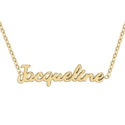 Collier prénom Jacqueline
