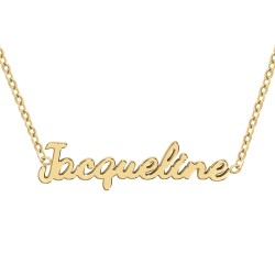 Jacqueline name necklace