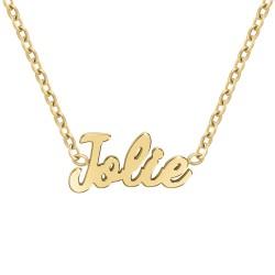 Collier à message Jolie