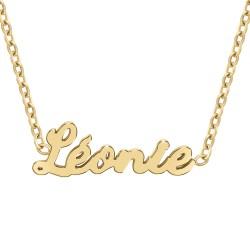 Collier prénom Léonie