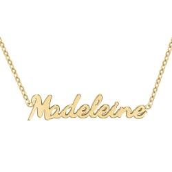 Madeleine name necklace