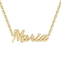 Maria name necklace