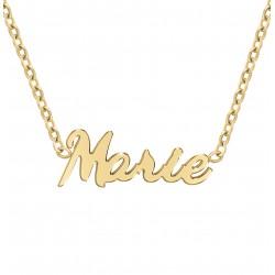 Collier prénom Marie