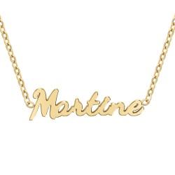 Collier prénom Martine