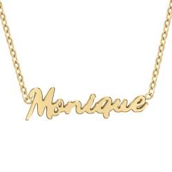 Monique name necklace