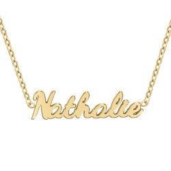Nathalie name necklace