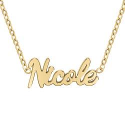 Collier prénom Nicole
