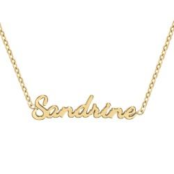 Collier prénom Sandrine