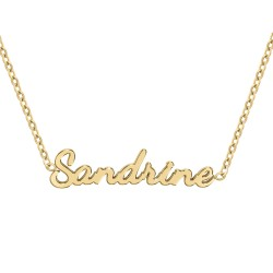 Sandrine name necklace