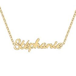 Collier prénom Stéphanie