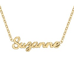 Suzanne name necklace