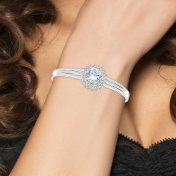 Bracelet adorned with...