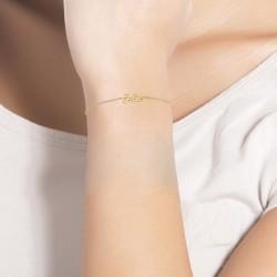 Bracelet à message Jolie