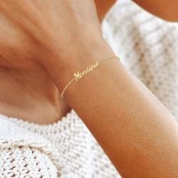 Monique name bracelet