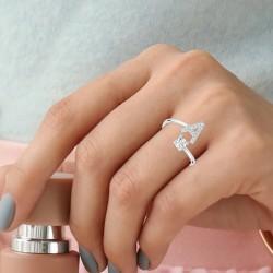 Adjustable letter A ring...