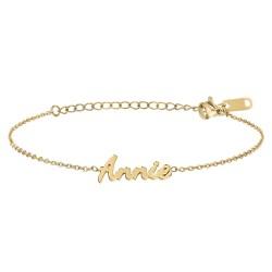 Annie name bracelet
