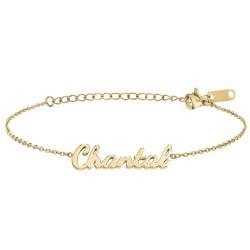Chantal name bracelet