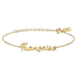 Françoise name bracelet