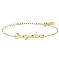 Jacqueline name bracelet