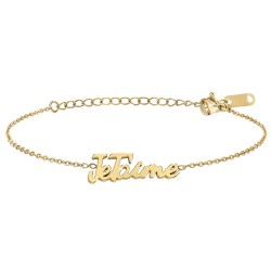 Bracelet à message Je t'aime