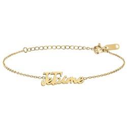 I love you message bracelet