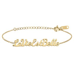 Bracelet à message La vie...