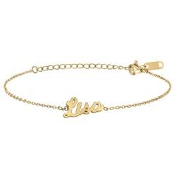 Bracelet prénom Lisa