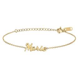 Marie name bracelet