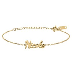 Nicole name bracelet