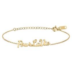 Bracelet à message Pour la vie