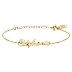 Stephanie name bracelet