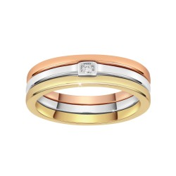 Conjunto de 3 anillos talla...