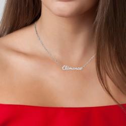 Clémence name necklace