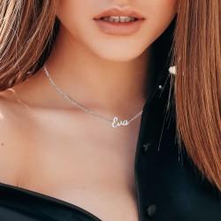 Eva name necklace