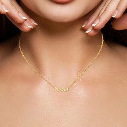 Anne name necklace