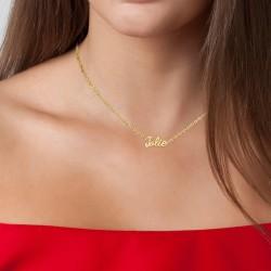 Jolie message necklace