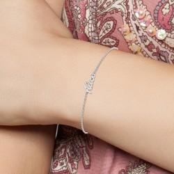 Alice name bracelet
