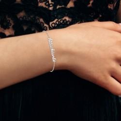 Attachiante message bracelet
