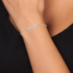 Camille name bracelet