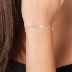 Clara name bracelet