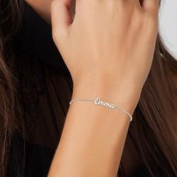Emma name bracelet