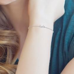Bracelet prénom Jade